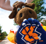 The first 1,000 people to register for Homecoming will recieve these specially designed gloves. Photo by Jamie Callari
